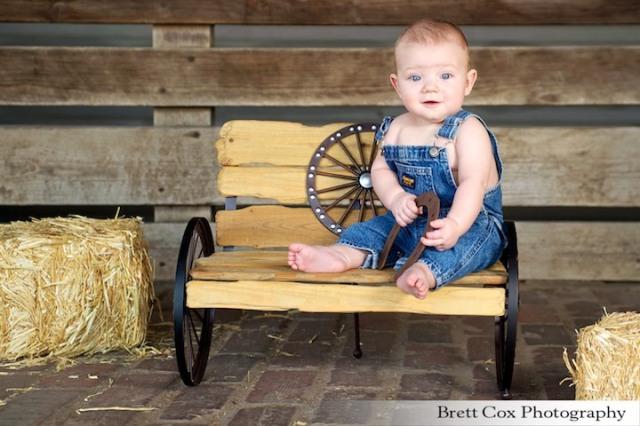 Brady Stockyards photoshoot