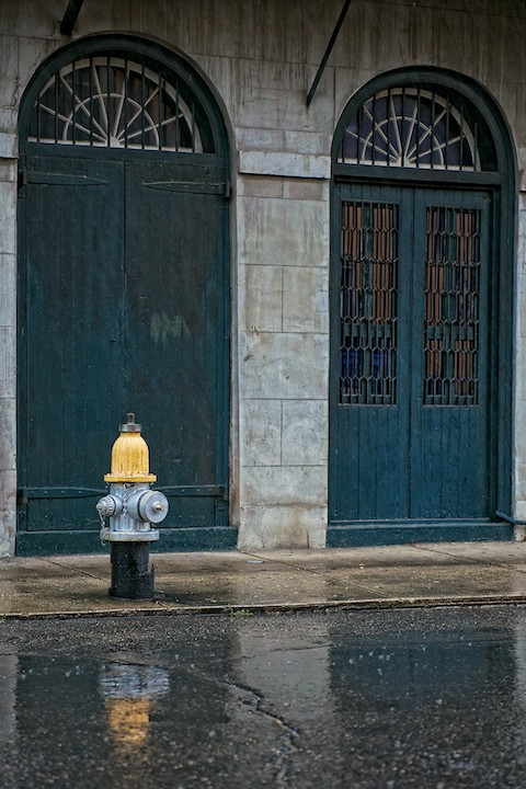 A Rainy New Orleans