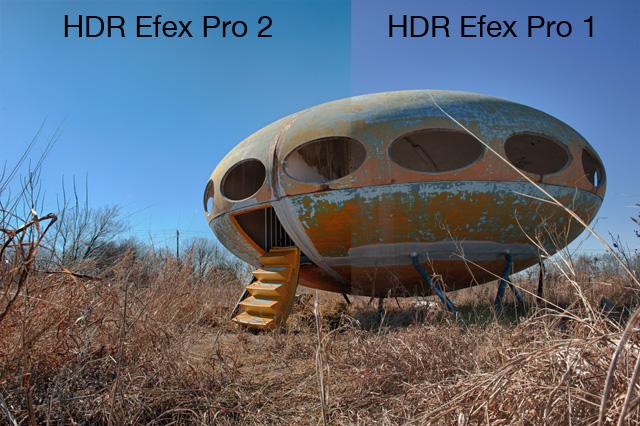 HDR Efex Pro comparison image