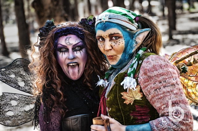 Luna Nightwing & Akward MyStump at Sherwood Forest Faire