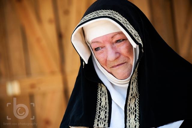 Scarborough Renaissance Festival - Nun